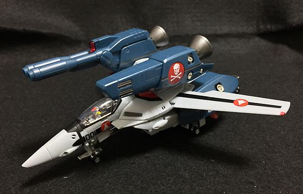 HI-METAL R 超時空要塞マクロス 愛・おぼえていますか VF-1Sストライクバルキリー(一条輝機) 約90mm ABS&PVC製 塗装済み可動フィギュア