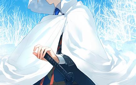 刀剣乱舞公式絵師の⑪先生が山姥切国広のイラストをブログにて公開