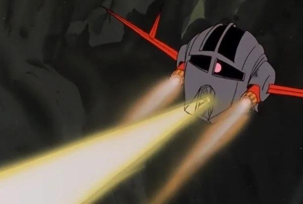 ジオング 口からメガ粒子砲