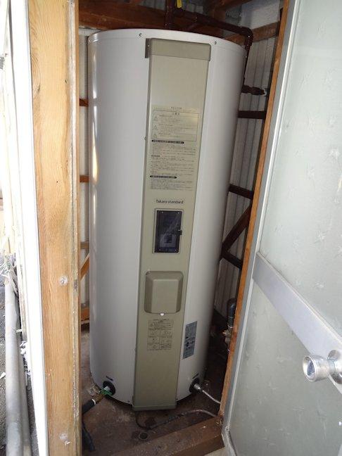 S田邸電気温水器取替~完了