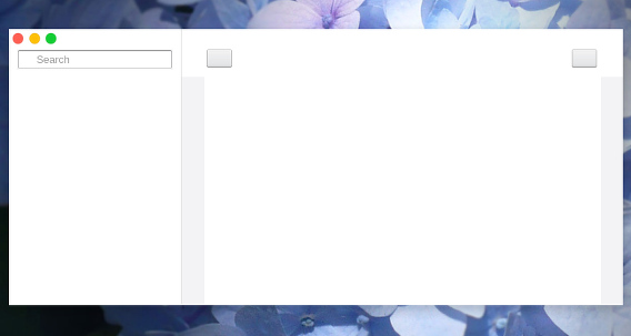 Notes Ubuntu メモ帳 起動直後のウィンドウ