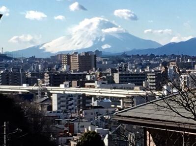 一昨日の富士山