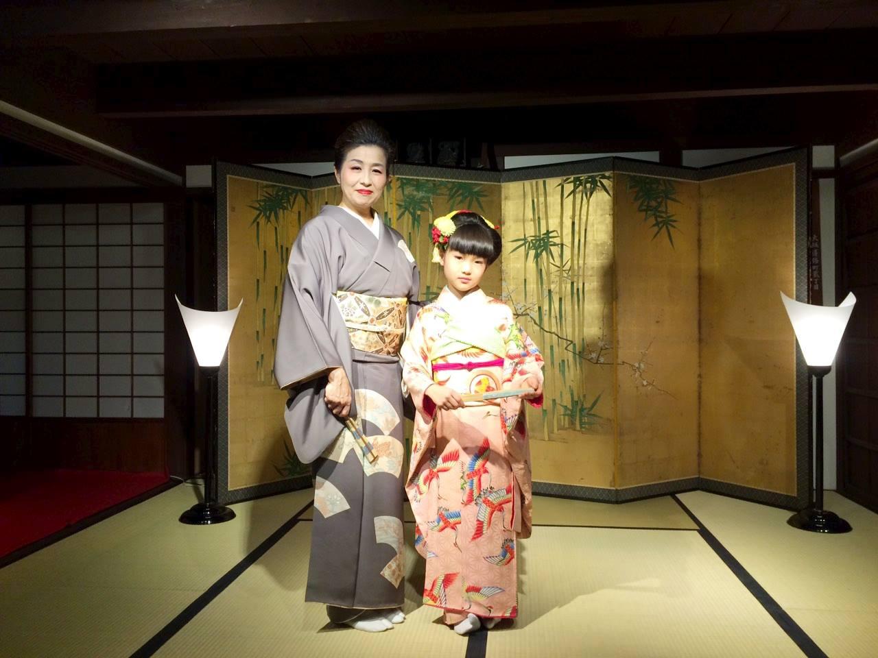 大阪住まいのミュージアム座敷舞2016・1記念撮影