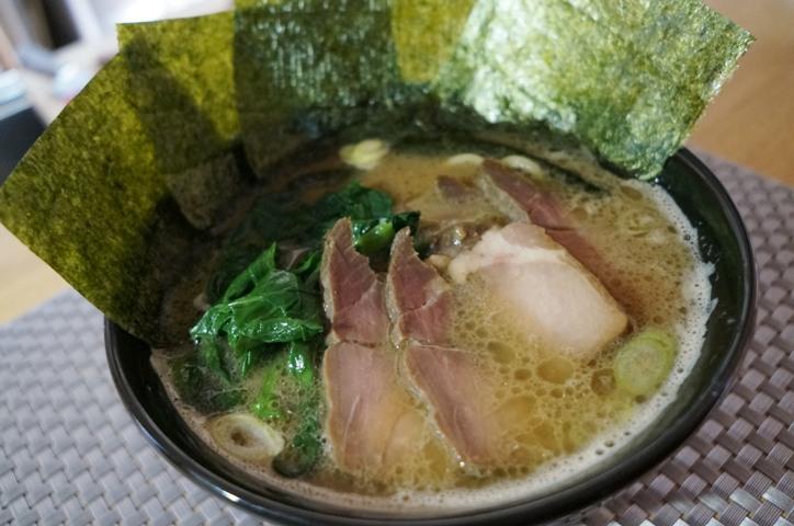 横浜家系ラーメンの再現@自作ラーメン レシピ&作り方