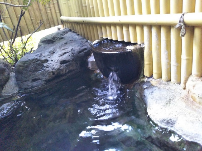 民宿たから温泉、大浴場