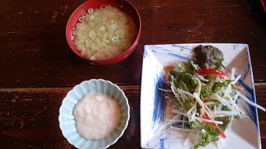 鰺ヶ沢温泉 水軍の宿 朝食