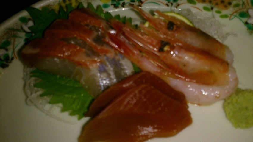 鰺ヶ沢温泉 水軍の宿 夕食