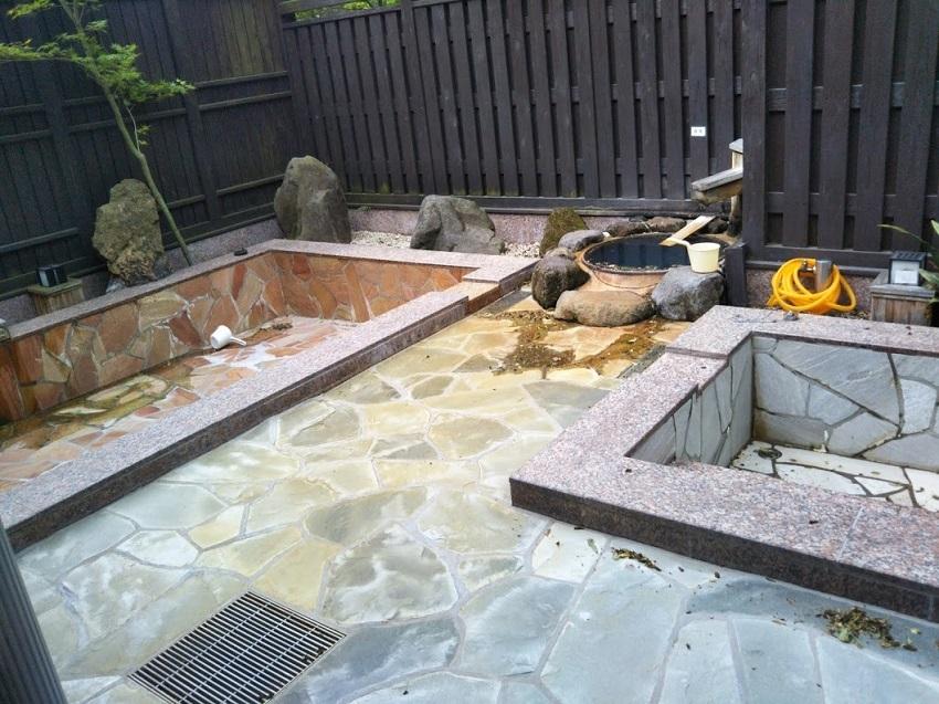 湯の宿 渓泉 大浴場