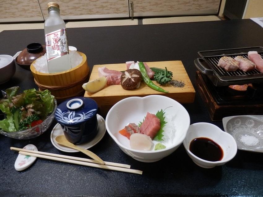 岩寿荘 食事
