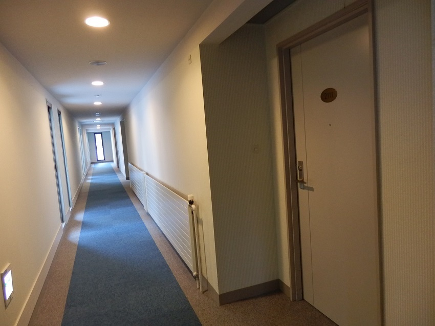 ホテルアンビエント蓼科 客室階廊下